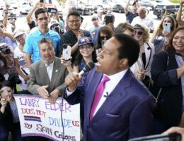 Are Larry Elder's 15 Minutes of Candidacy Already Up?