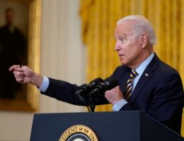 Biden Defends Afghanistan Exit as Taliban Gain