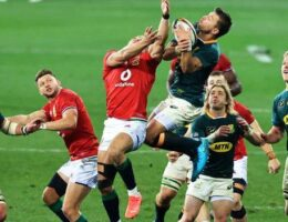 British and Irish Lions: Lions fight back to clinch series opener