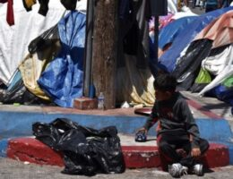 Chicken Pox Outbreak in Fake-Refugee, Illegal Migrant Camp in Tijuana