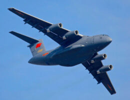 China's Air Force Invests Big On Large Transport Planes