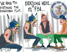 CODE RED COMICS: THE FBI Should Not Be In The Business of Creating a Crime