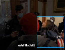 Congressman Reveals What He Said and Did to Officer Who Shot Ashli Babbitt