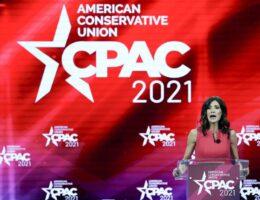 CPAC: Gov. Kristi Noem Blasts Joe Biden's Open Borders Agenda