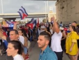 Cuban Protestors Stand Up For Freedom In Florida Chant: 'If Cuba Is In The Streets, Tampa Is Too'