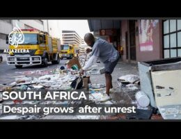 Despair In South Africa After Unrest Leaves More Than 200 Dead And Communities Gutted By Looting And Arson