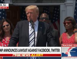 Donald Trump Announces His Big Move Against Big Tech