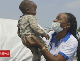 DRC volcano: Reuniting children with families after the eruption