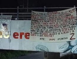 Grupo Operativo Z Threatens CJNG in Narcomantas, Córdoba & Fortín, Veracruz