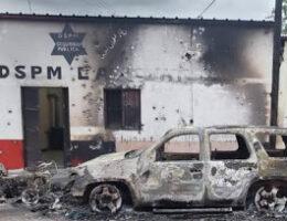 Gunmen Attack Police Headquarters in Carichí, Chihuahua, as Retaliation for H7's Arrest