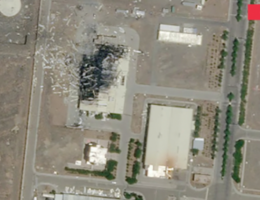 Iran Blames Israel For Last Month's Attack On The Karaj Nuclear Facility