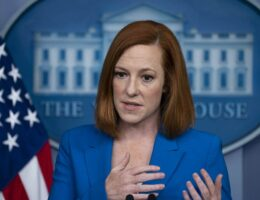 Jen Psaki Tells a Straight Up Lie About Why Joe Biden Snapped at Reporters