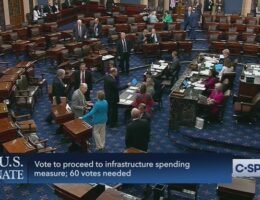 JUST IN: Senate Republicans Block Opening Debate on $1.2 Trillion Infrastructure Measure