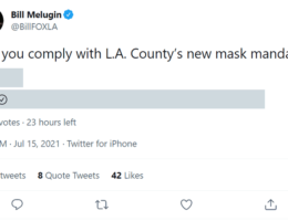 Los Angeles County Reinstates Its Unscientific, Reactionary Indoor Mask Mandate