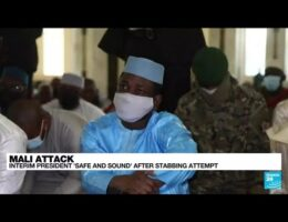 Mali Interim Leader Says He's 'Well' After Failed Assassination Attempt