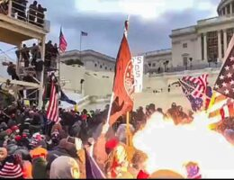 More Evidence Reveals DC Police Attacked Trump Protesters on Jan. 6, Hurled Flash Bombs at Crowd, and Now Dirtbag Chris Wray, Democrats, Media and DC Police Refuse to Release the Evidence