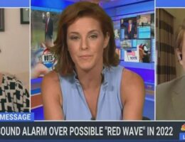 MSNBC's Stephanie Ruhle Mashes Panic Button Hard as Dem Fears of 2022 Midterm 'Red Wave' Grow