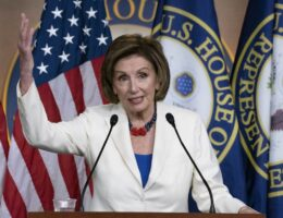 Nancy Pelosi Goes Full Kool-Aid Man Over the Infrastructure Deal
