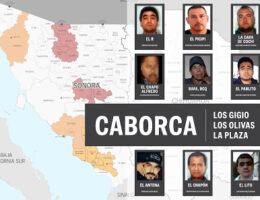 Notable Figures: Caborca Cartel, Los Gigio, Los Olivas, La Plaza