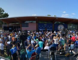 Paltry Crowd Gathers to See Joe Biden Campaign For Terry McAuliffe in Arlington, Virginia (VIDEO)