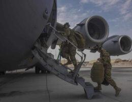 Pentagon Says Afghan Withdrawal 'More Than 90 Percent' Done