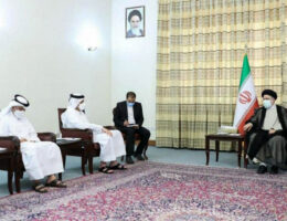 Qatar's Foreign Minister Visits Iran and Meets with Senior Officials   Middle East News