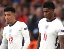 Racist abuse of England players Marcus Rashford, Jadon Sancho & Bukayo Saka condemned by Boris Johnson and FA