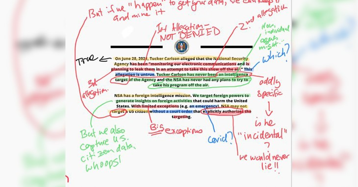 NSA Statement, Harmeet K. Dhillon
