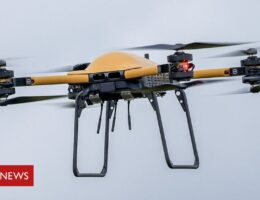 Royal Navy tests drones above and below waves