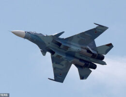 Russian Warplanes Practice Bombing Enemy Ships In Black Sea Training Missions