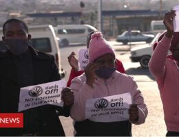 South Africa riots: The community standing up to looters