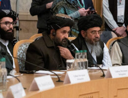 Taliban Delegation Visits Moscow To Say They Are Not A Threat To Russia