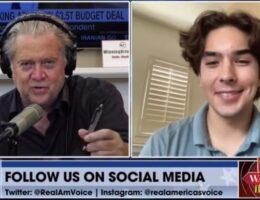 TGP's Jordan Conradson Joins Steve Bannon to Talk COVID Door Knockers (VIDEO)