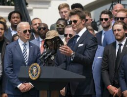 Tom Brady Attempts a Funny at Trump's Expense During Buccaneers' White House Visit, Fails Miserably