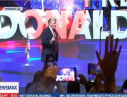 Trump Eviscerates the Democrats in Rip-Roaring Rally in Arizona