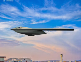 U.S. Air Force Releases New B-21 Raider Artist Rendering