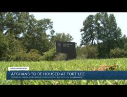 U.S. Will First House 2,500 Afghan Interpreters And Their Families At Fort Lee in Virginia When Evacuations Start