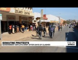 Unrest Continues In The African State Of Eswatini