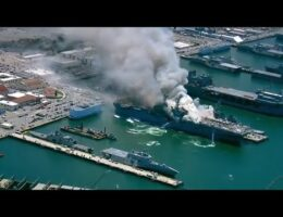 US Navy Has Yet To Explain The Cause Of The Fire That Dstroyed The Amphibious Assault Ship Bonhomme Richard