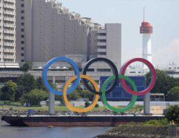 US Olympic Swim Team Pretends It Is the Team From North Korea as Jill Biden Looks On