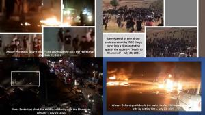 (Video) Iran: The Uprising in Khuzestan, Despite Security and Repressive Measures, Continue