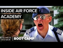 What New Air Force Cadets Go Through On Day One At The Academy (Video)