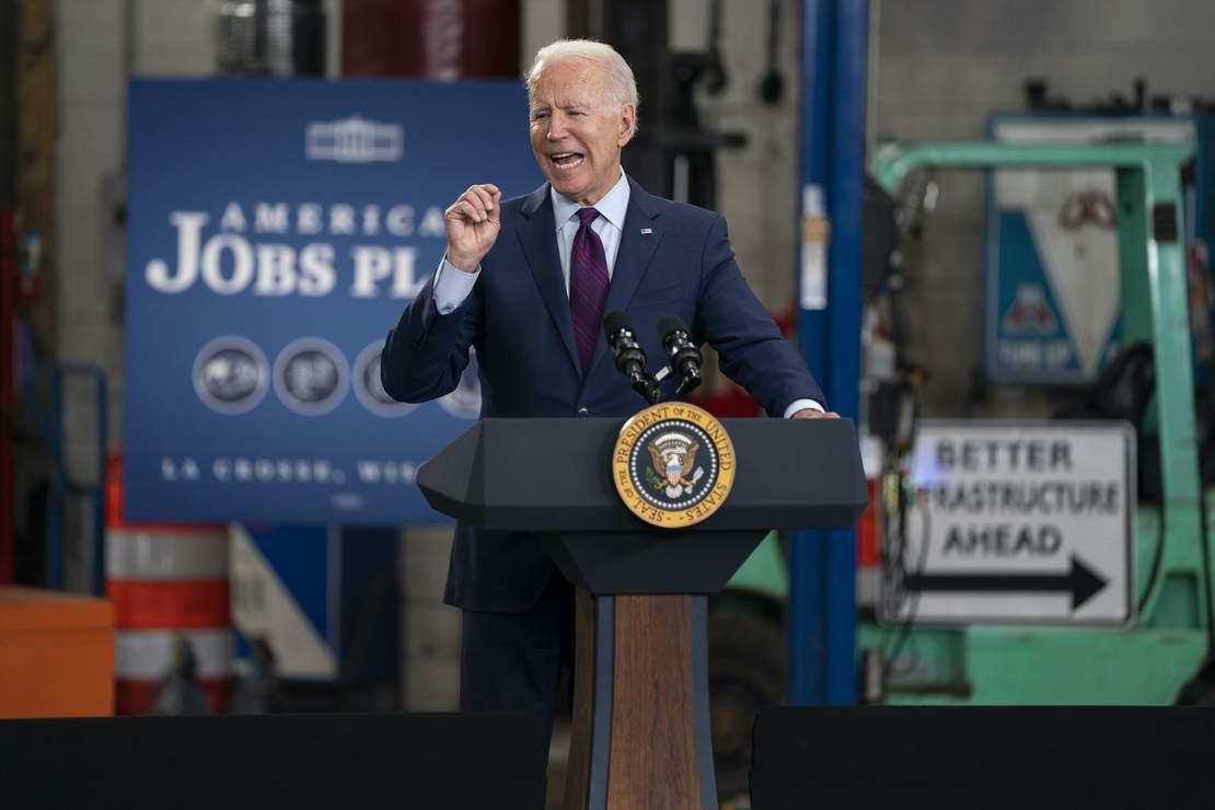 Biden: $3.5 Trillion Build Back Better Bill Is 'Going to Transform America'