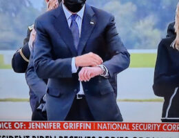 Did President Biden Look At His Watch During Ceremony For Dead Marines At Dover Air Base?