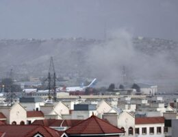 Explosion Near Airport Was US Airstrike Against Multiple Suicide Attackers