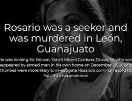 León, Guanajuato: Rosario Was A Missing Persons Seeker And Was Murdered