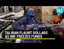 Taliban Showcase The Military Equipment That They Have Seized As Well As Pallets Of American Cash