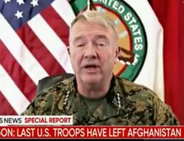 That's It: All Planes Out of Afghanistan, Gen. McKenzie Admits Americans Were Left, Praises the Taliban