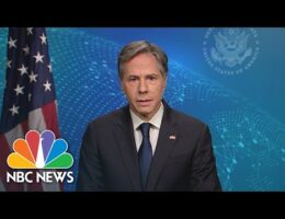 U.S. Secretary of State Blinken Appears On The Sunday Morning Shows To Discuss Afghanistan
