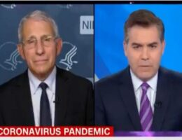 Acosta and Fauci Tag Team to Fight 'Disinformation' -- as They Push Disinformation Themselves